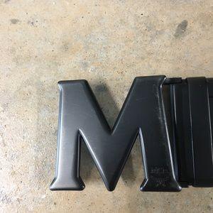 Other - Mens MCM signature Leather Belt